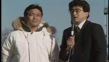 1989年度高校選手権2回戦岐阜工業高校戦後のインタビュー