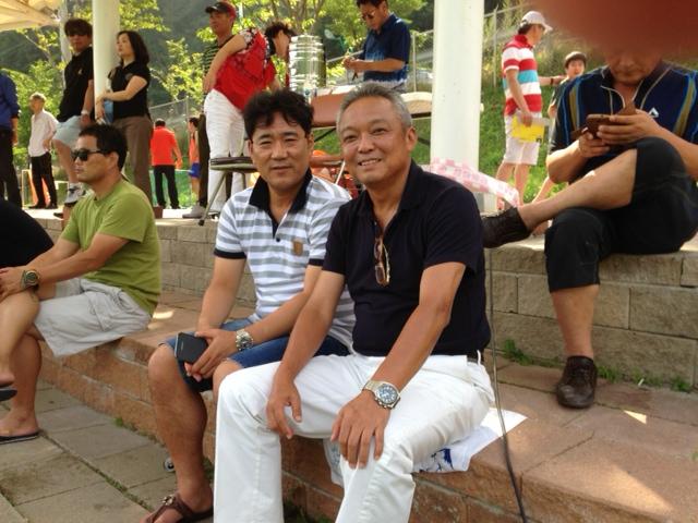 金鉉錫と久々の再会 その後、東アジア杯2013韓国戦を観戦